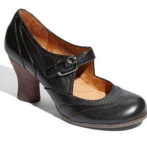 Naya Jupiter Mary Jane Block Heels Black Size 9 N